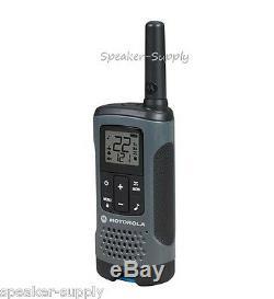 Motorola Talkabout T200tp Talkie Walkie 9 Pack Combinée 20 Mile Two Way Radio Package