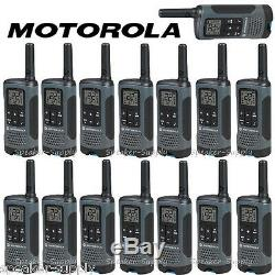 Motorola Talkabout T200tp Walkie Talkie 15 Set Paquet De 20 Mile Two Way Radios Lot