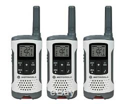 Motorola Talkabout T260tp Talkie Walkie 6 Set Two Way Pack Noaa Vox Radio Nouvelle