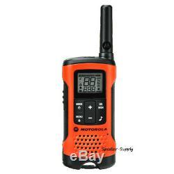 Motorola Talkabout T265 6 Pack Talkie Walkie Set 25 Mile Two Way Radio + Oreillettes
