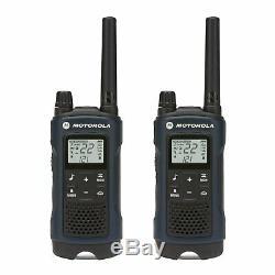 Motorola Talkabout T460 Talkie Walkie 6 Pack Set 35 Mile Two Way Radio W Vibrer