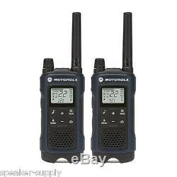 Motorola Talkabout T460 Walkie Talkie 10 Pack Set 35 Mile Two Way Radio Vibrer