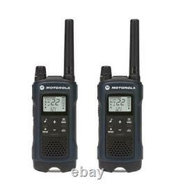 Motorola Talkabout T460 Walkie Talkie 4 Pack Set Radio À Deux Voies 35 Mile