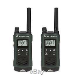Motorola Talkabout T465 Talkie Walkie 6 Pack 35 Mile Two Way Radio (cas + Oreillettes)