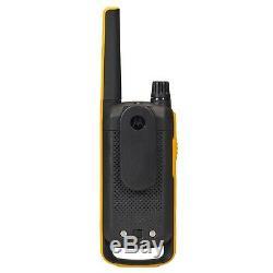 Motorola Talkabout T475 Extreme Two-way Radio, 35 Mile, 2 Pack, Noir Et Jaune