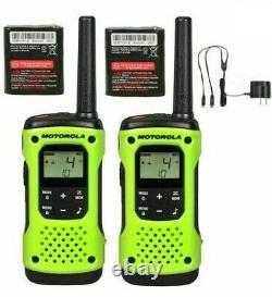 Motorola Talkabout T600 H2o Walkie Talkie Set 35 Mile Two Way Radio Waterproof
