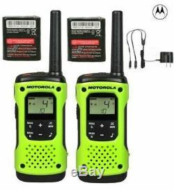 Motorola Talkabout T600 Talkie Walkie Set 35 Mile Two Way Radio Frs Étanche