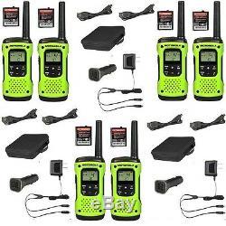 Motorola Talkabout T605 Talkie Walkie 6 Set Pack De Two Way Radio Étanche