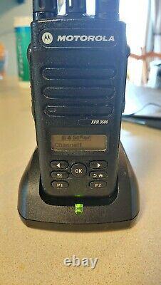 Motorola Xpr3500 Xpr 3500 Uhf 403-512 Mhz Mototrbo Portable Two Way Radio