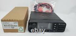 Motorola Xpr5550e Uhf 450-512 Mhz Digital & Analog Two-way Radio Aam28trn9wa1an