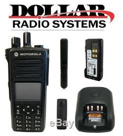 Motorola Xpr7550 Uhf 403-512mhz 1000ch Fm Approuvé Numérique / Analogique Radio À Deux Voies
