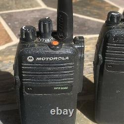 Motorola Xpr 6350 (3 Lot)4w Radio À Double Sens