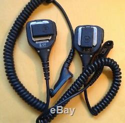 Motorola Xpr-6350 Uhf Radio À Deux Voies 32 Canaux Aah55qdc9la1an Lot 2 MIC Batt