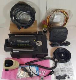 Motorola Xtl2500 Vhf 136-174 Mhz 110w P25 Radio Mobile Numérique M21ktm9pw1an Xtl