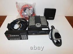 Motorola Xtl5000 700/800mhz P25 Digital Trunking Mobile Radio Chiffrement W9