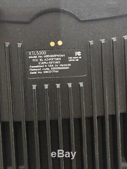 Motorola Xtl 5000 Two Way Radio