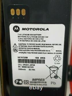 Motorola Xts2500 Uhf 380-470 Mhz P25 Digital Two-way Radio Fpp En Vente