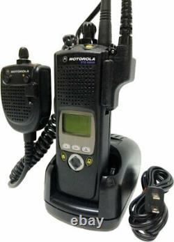 Motorola Xts5000 II Vhf P25 Digital Two Way Radio Smartzone Aes Police Fire Ems