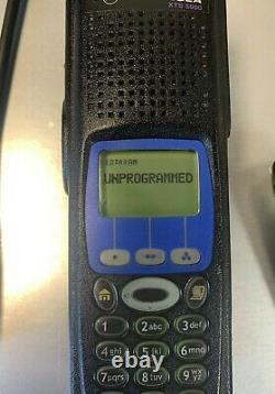 Motorola Xts5000 Modèle III 700 800 Mhz P25 Police Incendie Ems Radio H18uch9pw7an