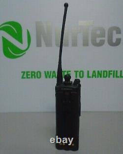 Motorola Xts5000 Two Way Radio H18ucf9pw6an Blue Avec Antenna & Battery