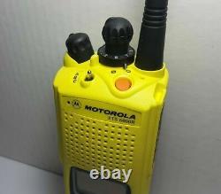 Motorola Xts5000 Uhf 380-470 Mhz Digital P25 Police Incendie Ems Radio H18qdf9pw6an