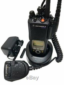 Motorola Xts 5000 II 800mhz P25 Two Way Radio Smartnet Smartzone Président MIC Adp