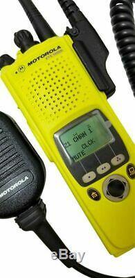 Motorola Xts 5000 II Vhf P25 Numérique Radio À Deux Voies Ucm Adp Aes Des Smartzone