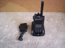 Nice Motorola Xpr 7550e Radio À Double Sens Aveccharger & Impres Batt Aah56rdn9wa1an