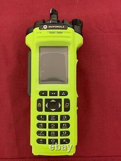 Nouveau Motorola Apx7000 Uhf 1 / Vhf P25 Radio Numérique Portable Tdma Aes-256 Gps