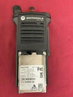 Nouveau Motorola Apx7000 Vhf 7/800mhz P25 Numéro Digital Radio Tdma Bluetoth Gps