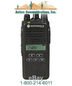 Nouveau Motorola Cp185, Vhf 136-174 Mhz, 5 Watt, 16 Affichage De Canal Radio À Deux Voies