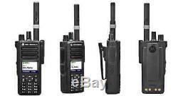 Nouveau Motorola Xpr 7550, Vhf 136-174 Mhz, 5 Watt, 1000 Canaux Radio À Deux Voies