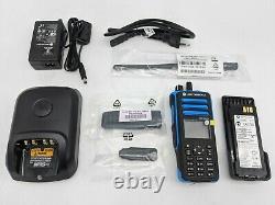 Open Box Motorola Mototrbo Dgp 8550ex Portable Radio Dans Les Deux Sens -nr3457