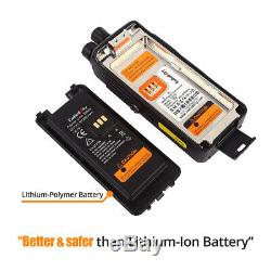 Radioddity Gd-55 Plus Dmr Tier II Batterie 2800mah 10w Uhf Ham Radio À Deux Voies Dhl