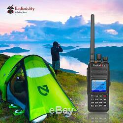 Radioddity Gd-55 Plus Uhf Dmr Ip67 2800mah Batterie HP 10watt Radio À Deux Voies