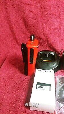 Rouge Ou Bleu Motorola Cp200d Uhf Full Analog And Digital Two-way Radio 403-470mhz