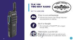 Tlk 100 Motorola Wave Oncloud Radio Bidirectionnelle Avec 4g Lte Wifi Nationwide Couverture