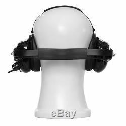 Two Way Radio Casque Avec Suppression De Bruit Pour Motorola Ht1000 Mt1500 Mt2000