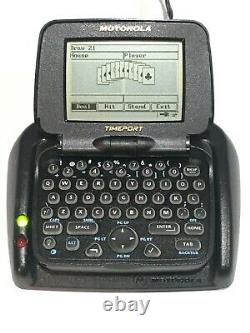 Vintage Motorola Timeport P935 Pagewriter 2000x Bi Way Pager