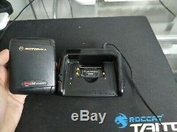 Vintage Motorola Timeport Pagewriter 2000x Noir P935 À Deux Voies Téléavertisseur De Travail
