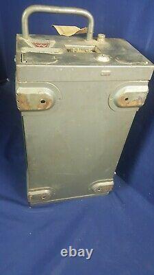 Vintage Motorola Twin V Radio À Deux Voies T43ggv-1 Ta139 6/12 Cov Parties Non Testées